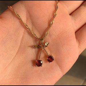 Brandy Melville Jewelry - Cherry Necklace